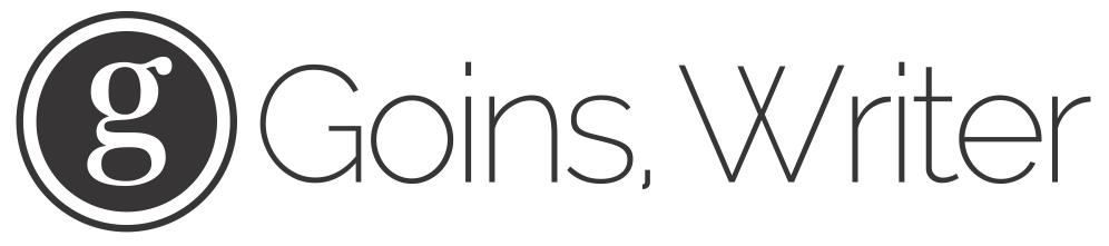goins writer logo