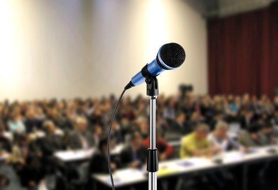Microphone at Seminar Hall